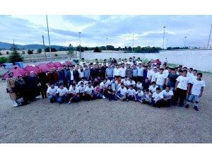 Başkan Kılca, Atabey Gençlik Kampı'nda gençlerle buluştu