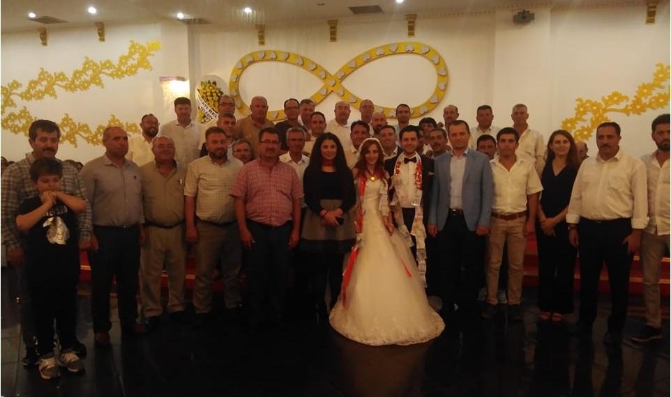 Eskil Emniyet Amiri Tunahan Mutoğlu Evlendi