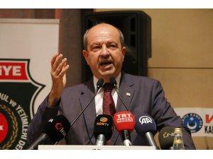 """KKTC Başbakanı Tatar: """"Arkamızda koskoca Türkiye Cumhuriyeti var"""""""