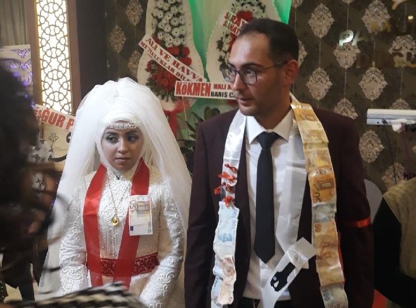 Rabia ile Mehmet evlendi