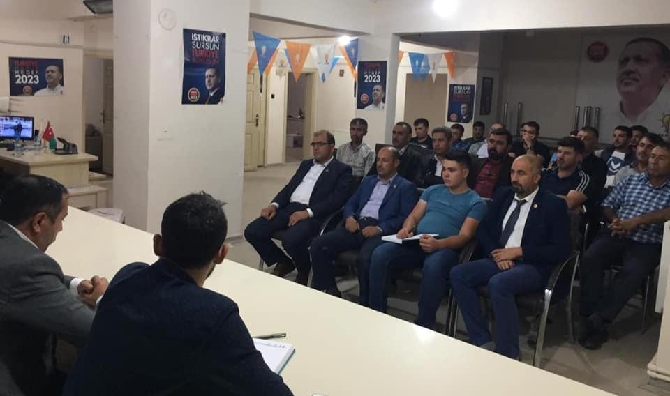 Eskil AK Parti 6. Ay İstişare Toplantısını Yaptı! İşte Başkan Belgemen'in İcraatları!