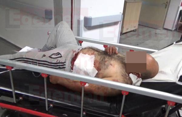 Aksaray'da bıçaklama! Kardeşinin kayın pederini bıçakladı!