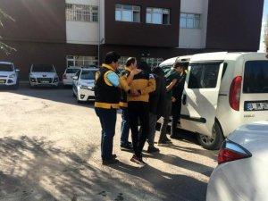 Aksaray'da yağma şüphelileri operasyonla yakalandı