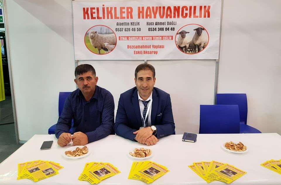 Kelikler Hayvancılık Bursa'daki Hayvancılık ve Ekipmanları Fuarı'na katıldı