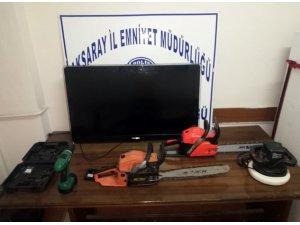 Aksaray'da hırsızlık yapan 2 kişi tutuklandı