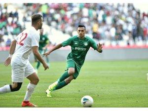 Konyaspor özel maçta Eskişehirspor'u 1-0 mağlup etti