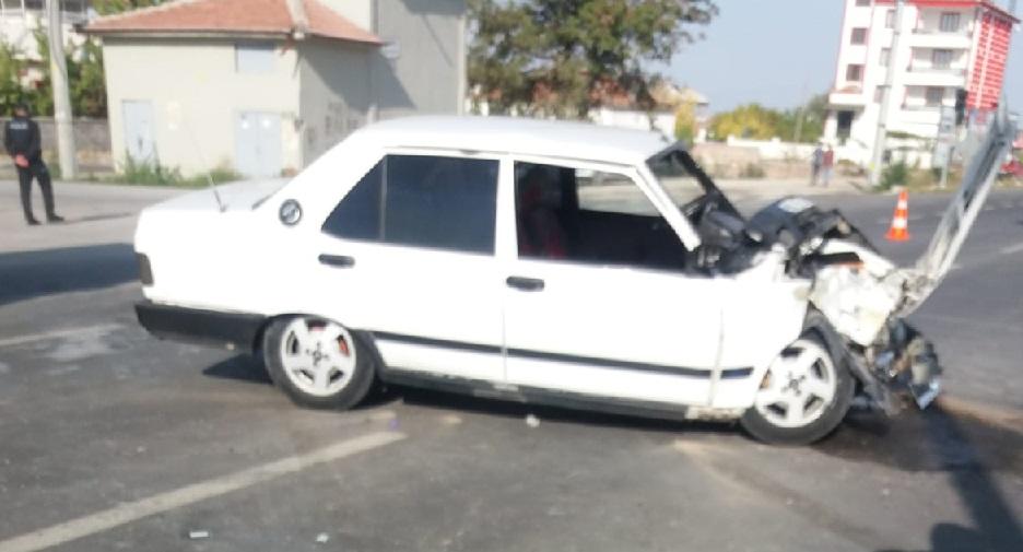 Sultanhanı'nda trafik kazası 4 yaralı