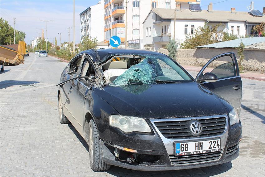 Eskil'de trafik kazası!