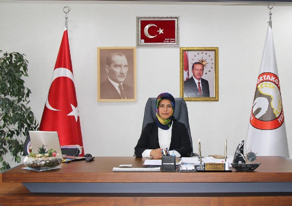 Ortaköy'de İlk Defa Bir Kadın Başkan Koltukta!