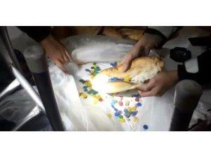 Ekmek içinden tombala pulu çıktı