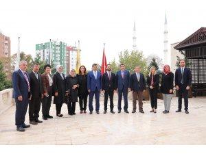 Down Sendromu Araştırma Komisyonu'ndan Büyükşehir'e ziyaret