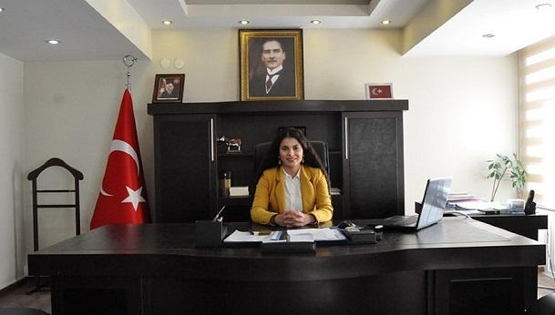 Emine Karataş Laçin Kaymakamlığı'na atandı