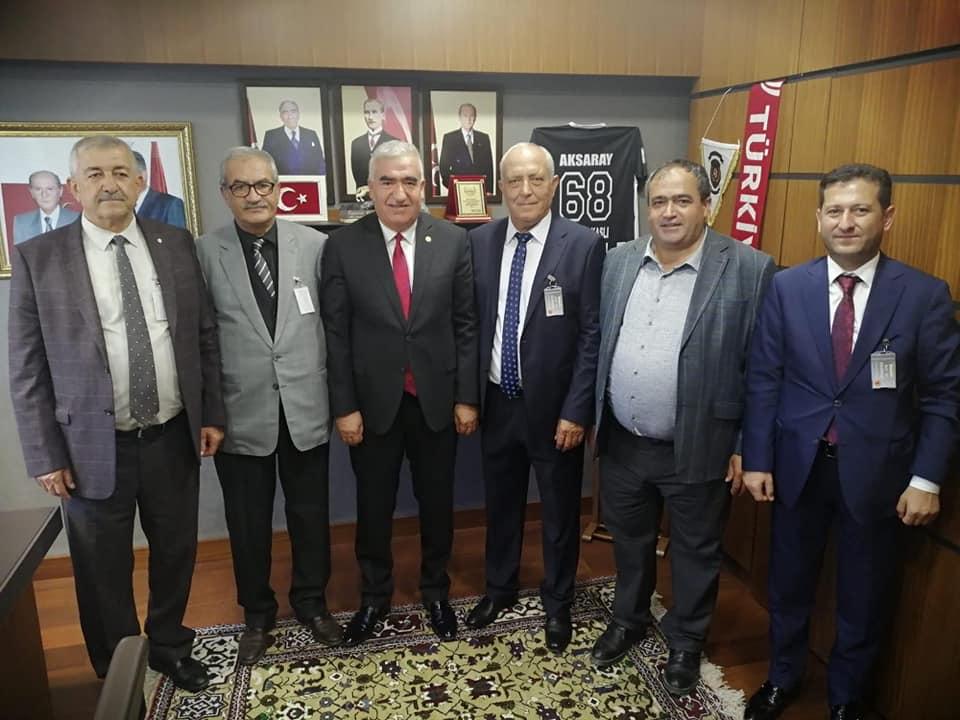 Pankobirlik yönetiminden Ankara ziyareti