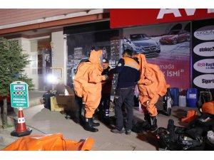 Aksaray'daki kimyasal ve biyolojik madde şüphesi negatif çıktı