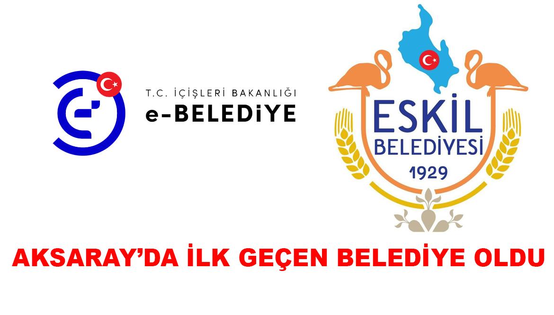 Aksaray'da O Sisteme İlk Olarak Eskil Belediyesi Geçti