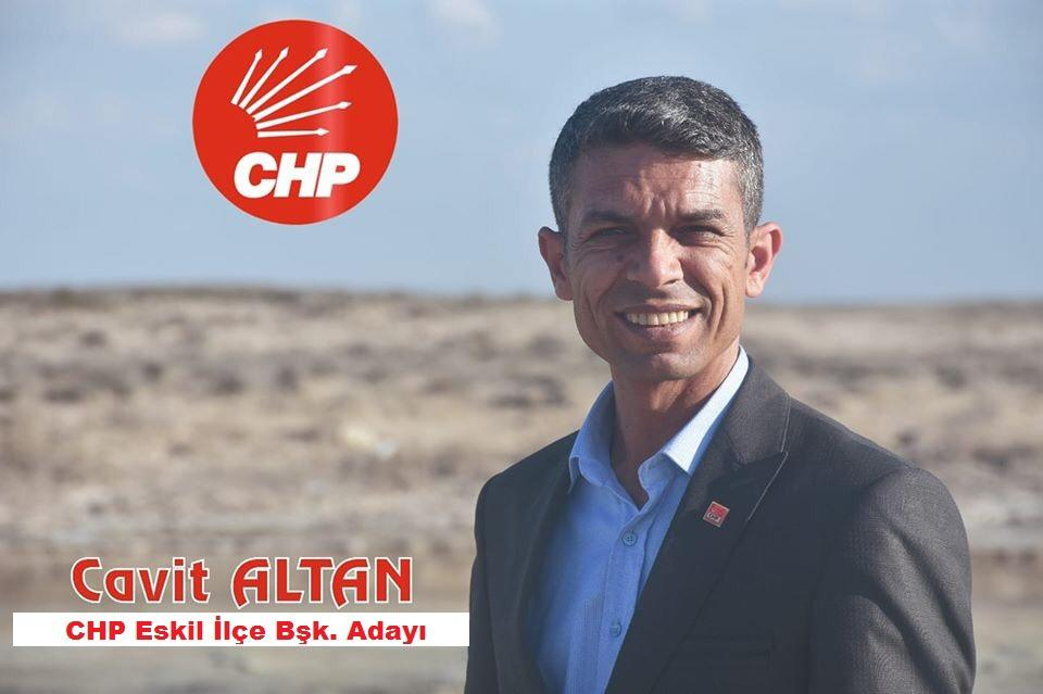 CHP Eskil İlçe Başkanlığı'na Yeni Aday! !