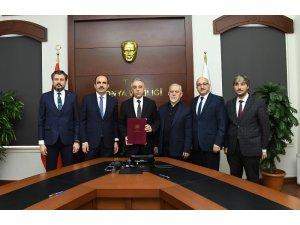 Bozkır'a yapılacak 8 derslikli okulun protokolü imzalandı