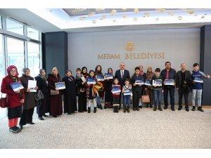 Başkan Kavuş, en çok kitap okuyanları ödüllendirdi