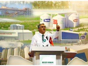 """Başkan Konuk: """"Konya Şeker, 2019'da 32 kalem ürün aldı ve üreticiye 2,5 milyar lira ödeme yaptı"""""""