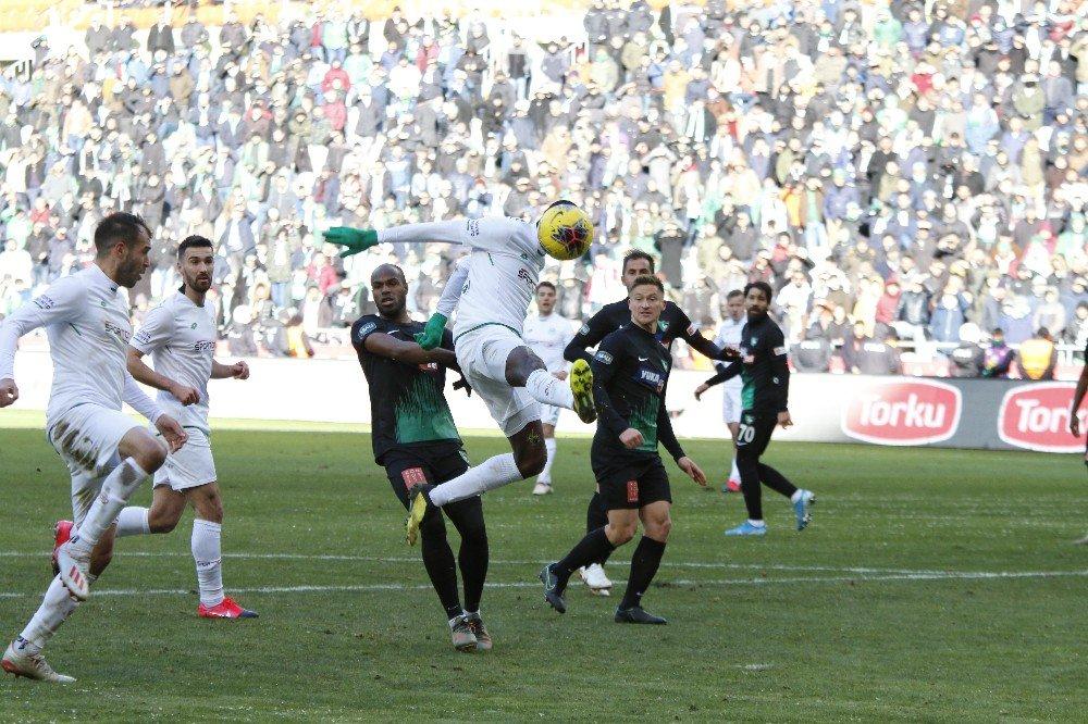 Süper Lig: Konyaspor: 0 - Denizlispor: 0 (Maçtan dakikalar)