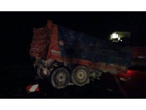 Karapınar'da Tır İle Traktör Çarpıştı: 1 Ölü, 2 Yaralı