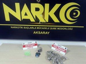 Aksaray'da iki ayrı uyuşturucu operasyonu: 3 tutuklama