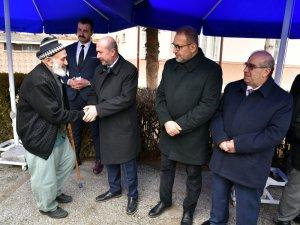 Başkan Pekyatırmacı Akabe Camisi'nde vatandaşlarla buluştu