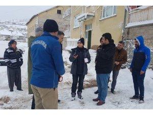Konya Derebucak'taki depremde 10 bina hasar gördü