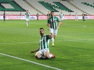 Konyaspor: 1 - Fenerbahçe: 0 (Maçtan Dakikalar)