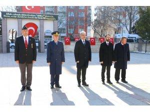 Konya'da Çanakkale Zaferi'nin 105. yıl dönümü dolayısıyla töreni yapıldı