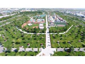 Karatay'da bazı parklar ile hobi bahçeleri kapatıldı
