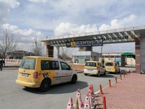 Konya Büyükşehir'den dezenfeksiyon hizmeti
