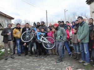 Mavi Bisiklet Filminin Çekimleri Tamamlandı