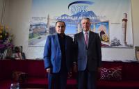 Aksaray SGK İl Müdürlüğüne Merkez Valisi Aydoğdu'dan ziyaret