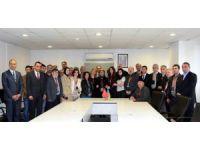 Kardeş Şehir Şeki'den Başkan Toru'ya Ziyaret