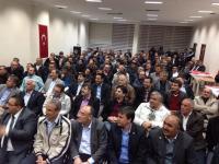 Ak Parti Aksaray Memur-Sen üyeleri ile bir araya geldi