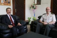 Prof. Dr. Mustafa Acar'dan veda ziyaretleri