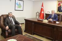 Rektör Prof. Dr. Şahin Protokol Ziyaretlerinde Bulundu