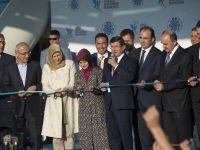 Başbakan Davutoğlu Konya Tropikal Kelebek Bahçesini Açtı