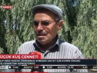 Ali Şifa Erkol'un Kuş Cenneti TRT Haber de