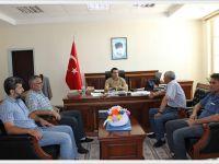 HAYKOOP Başkan ve Yöneticilerinden Kaymakam İlhan'a ziyaret