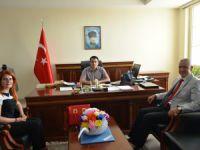 SGK İl Müdürü Çalışkan, İlhan ve Belgemen'i ziyaret etti