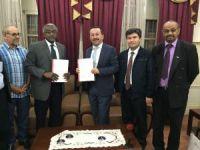 Rektör Gökbel'den Sudan'a İşbirliği Ziyareti