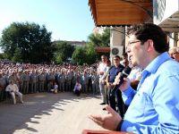 Aksaray'da 185 Hacı Adayı Kutsal Topraklara Uğurlandı