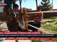 Eskil Cumhuriyet İlkokulu TRT Haber'de