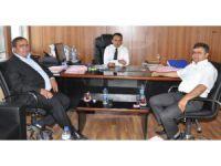 Başkan Koçak Ve Aktürk'ten Milli Emlak Müdürü'ne Ziyaret