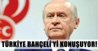 """Türkiye'nin konuştuğu isim: """"Devlet Bahçeli"""""""