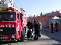 Aksaray Cezaevinde Tatbikat Alarmı