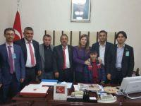 Ak Parti Aksaray İlçe Başkanlarından TBMM'ye ziyaret