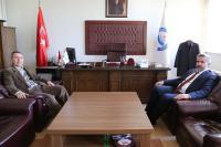 Rektör Prof. Dr. Yusuf Şahin'den Yakar'a hayırlı olsun ziyareti